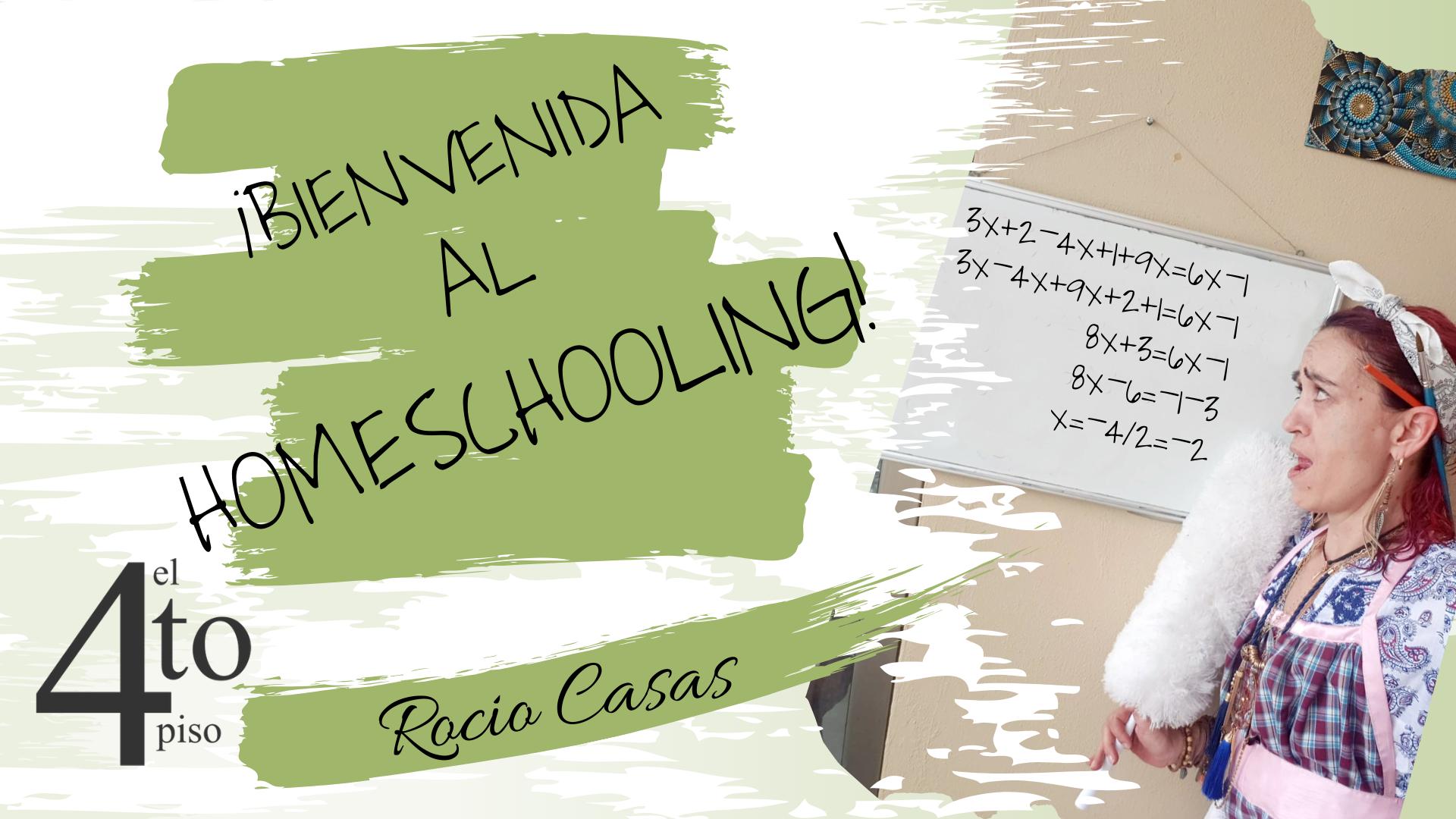 Bienvenida al homeschooling